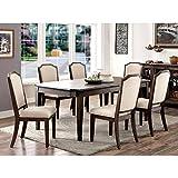 Cheap Furniture of America Dorin 7-Piece Dining Set