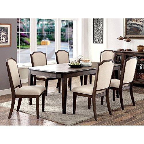 Furniture of America Dorin 7-Piece Dining Set