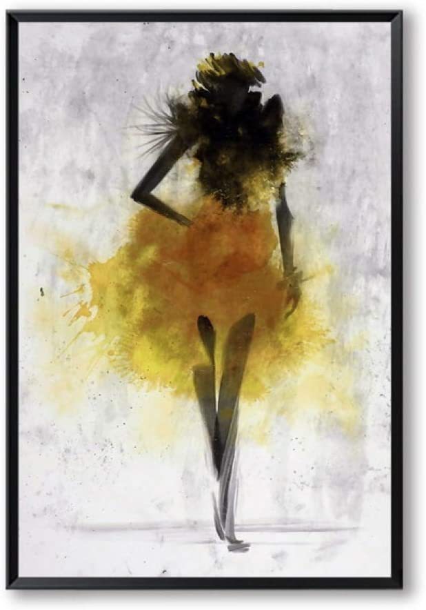 LiMengQi Falda de Baile Ascott Mujer Pintura Abstracta Acuarela impresión del Arte Cartel Personalidad decoración decoración del hogar (Sin Marco) A1 60x90CM: Amazon.es: Hogar