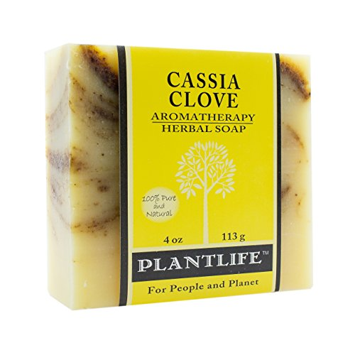 Cassia Clove 100% Pure & Natural Aromatherapy Herbal Soap- 4 oz (113g)