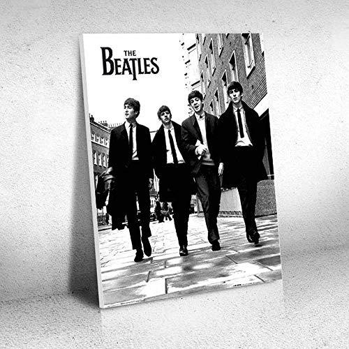 Quadro Decorativo - The Beatles PB - Quadro 30x40