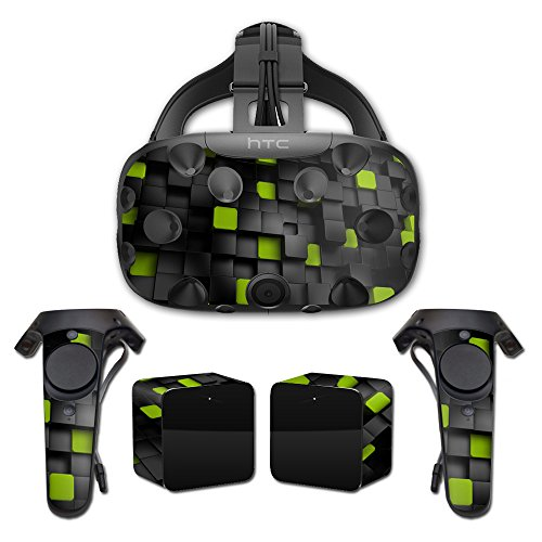 MightySkins Skin For HTC Vive Full Coverage - Cubes | Protective, Durable, and Unique Vinyl Decal wrap cover | Easy To Apply, Remove, and Change Styles | Made in the USA by MightySkins