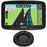 TomTom (1AA5.019.01 Automobile Portable 5' GPS Navigator w/Lifetime Traffic and Lifetime Maps + Deco Gear Universal Weighted GPS Navigation Dash-Mount
