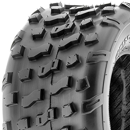 SunF Rear ATV Knobby Tires 20x10-9 20x10x9 4 PR A022 (Set pair of 2) by SunF (Image #2)
