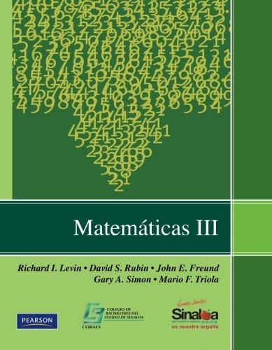 Matemáticas Iii (Spanish Edition) ePub fb2 ebook