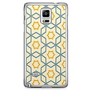 Loud Universe Authentic Arabic Pattern Tiles Samsung Note 4 Case Classical Arabic Architecture Style Samsung Note 4 Cover with Transparent Edges