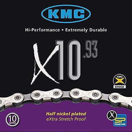 KMC X10-93 Cha/îne de v/élo /à 10 Vitesses