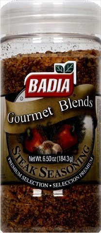 Badia Steak Seasoning Spice, 6.75 Ounce - 12 per case.