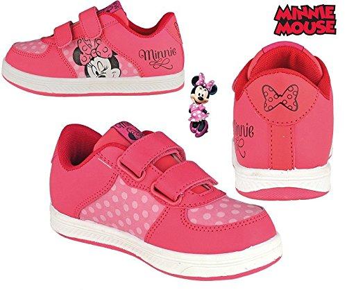 360e507f81 Minnie Mouse Bambini Scarpe di nelle Taglia 24 - 30, Rosa (Rosa), 30 EU:  Amazon.it: Scarpe e borse