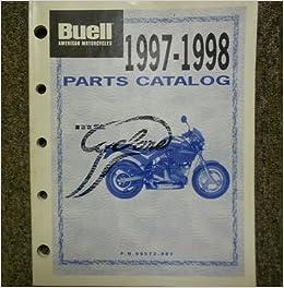 1997 1998 Buell M2 Cyclone Parts Catalog Service Repair Shop