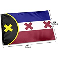 8lirot Flag 2020 Dream SMP, manberg Flags - Flag Vivid Color and UV Fade Resistant - Cool Outdoor/Indoor Banner with…