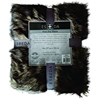 Esbeda Faux Fur Throw Vintage Fox