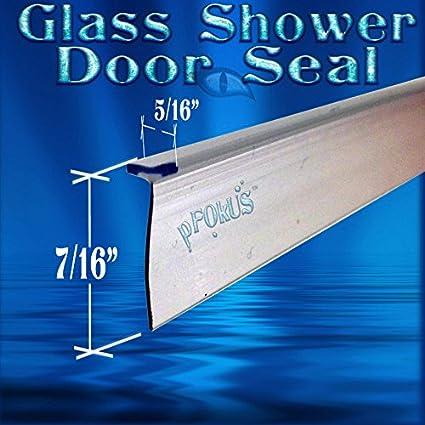 Ds9397 98 Long Tall T Shape Seal Frameless Glass Shower Door Seal