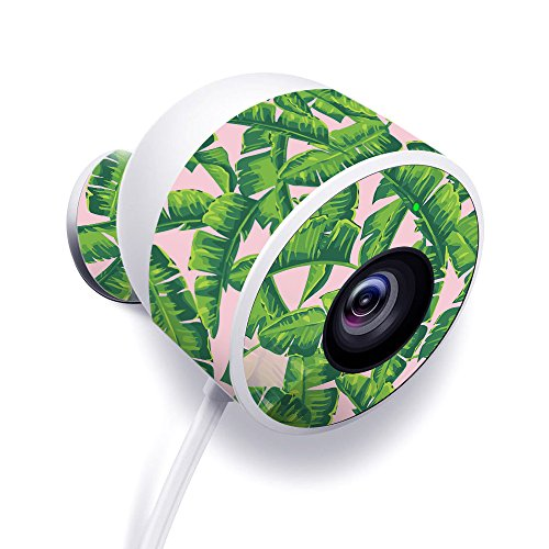 MightySkins Skin Compatible with Nest Cam Outdoor Security Camera - Jungle Glam | Protective, Durable, and Unique Vinyl Decal wrap Cover | Easy to Apply, Remove, and Change Styles | - Glam Cami