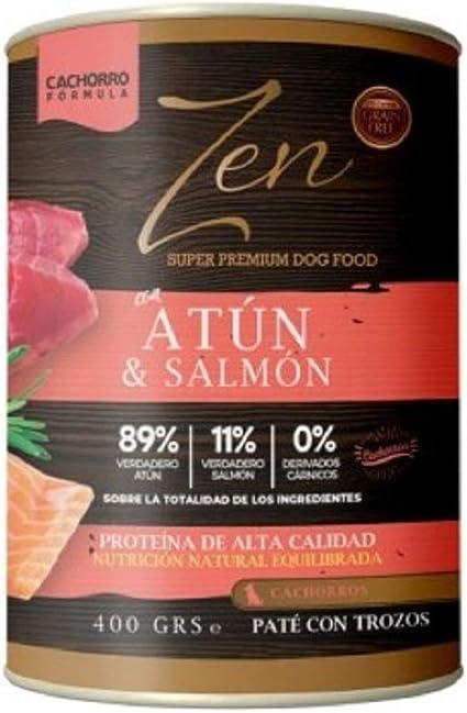 Zen Latas de Paté Carne Alta Proteína, Sin Cereales, Sin Gluten, Sin Potenciadores de Sabor, Hipoalergénicas, Sin Azúcar, Sin Conservantes, 100% Libre ...