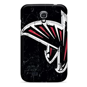 Samsung Galaxy S4 CGl6686sgUs Support Personal Customs Stylish Atlanta Falcons Pattern Scratch Resistant Cell-phone Hard Covers -MarieFrancePitre