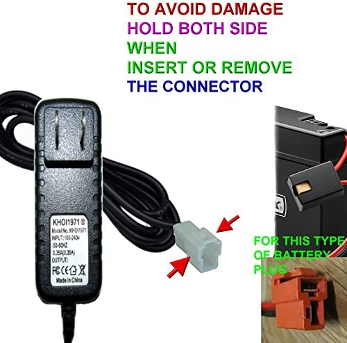 Wall Charger AC Adapter 6V Battery Powered For Kid TRAX ATV Quad Ride On Car New