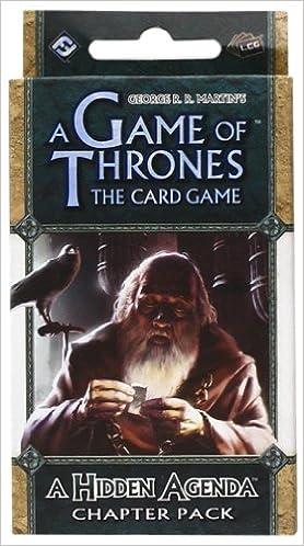 A Game Of Thrones Lcg A Hidden Agenda Chapter Pack Amazon De