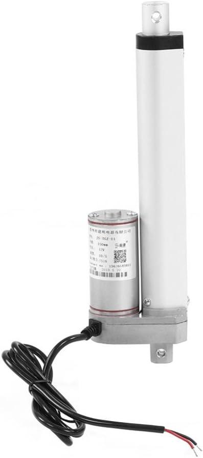 Actuador Lineal 12V Actuador Motor Eléctrico Lineal Movimiento de Elevador 350mm