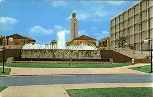 East Mall Fountain, University of Texas Austin Original Vintage - East Mall