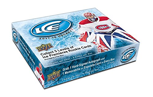 2017/18 Upper Deck Ice Hockey Hobby Box (Upper Memorabilia Deck)