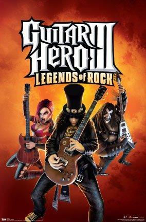 Guitar Hero 3 Poster