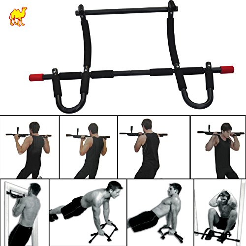 Strong Camel Heavy-Duty Xtreme Gym Doorway Push-Up/Pull-Up Bar by Strong Camel