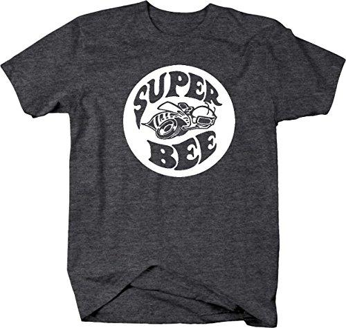 Super Bee Racing Charger Ram Racing Mopar Dodge Mens T Shirt - (Mopar Super Bee)