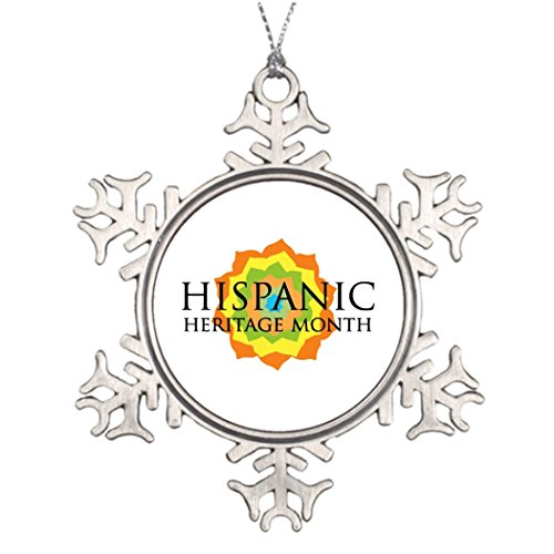 Tree Decorating Month Of Celebration HH Month Tree Snowflake Ornament Mexican Independence by Call ME BAby