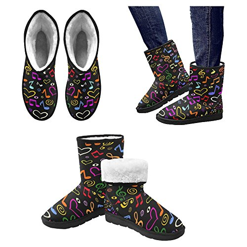 Snow Stivali Da Donna Di Interestprint Stivali Invernali Comfort Dal Design Unico 28