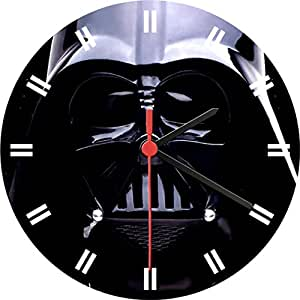 Star wars darth vader wall clock home kitchen - Darth vader wall clock ...