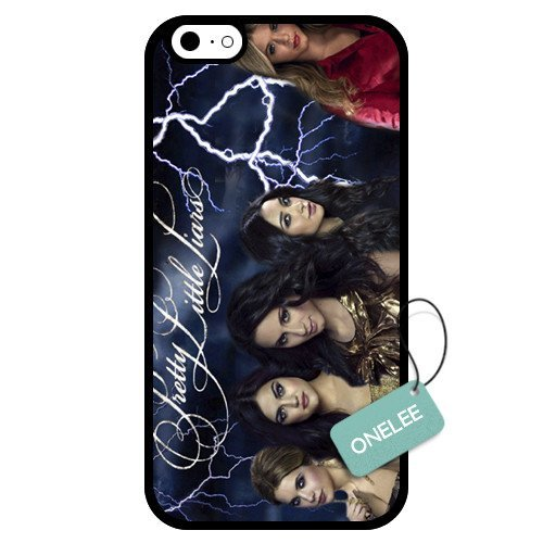 Onelee - Customized Pretty Little Liars TPU Apple iPhone 6 Case Cover - Black 03