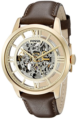 Fossil Men's ME3043 Townsman Analog Display Japanese Automatic Brown Watch ()