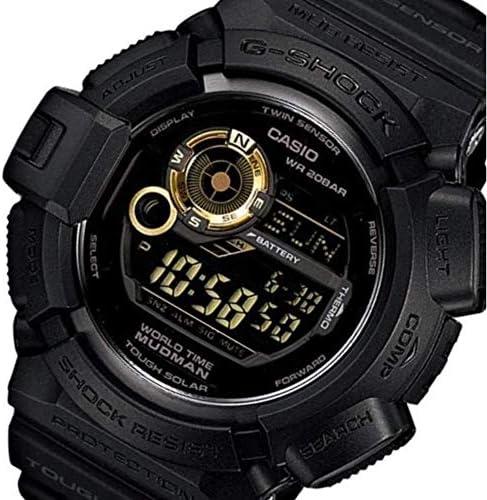 Casio Men s G9300GB-1 G Shock Digital Quartz Black Solar Watch