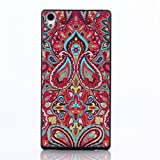 P7 Case,huawei p7 cover, Gift_Source Brand PC Hard Case Slim,Hard Plastic Back Cover Case for Huawei Ascend P7 Case-Tribal patterns + 1 X Screen Protector and Stylus Pen