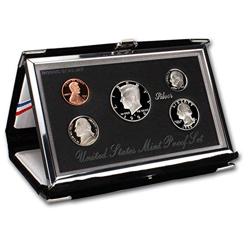 1998 US Mint Premier Silver Proof - Us Proof Set Silver Mint