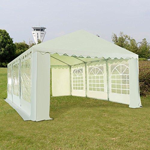 TANGKULA 16'X20' Outdoor Tent PVC Wedding Party Canopy Carport Heavy Duty (White)