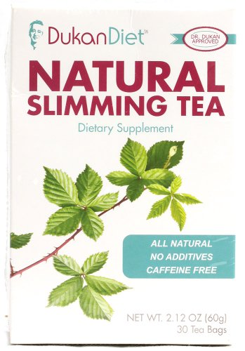 Régime Dukan Natural Slimming Tea - 30 Sachets de thé