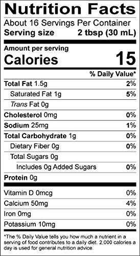 Califia Farms Better Half Coffee Creamer, Coconut Cream and Almondmilk, Half & Half, Dairy Free, Plant Milk, Vegan, Non-GMO, Vanilla, 16.9 Oz (Pack of 6)