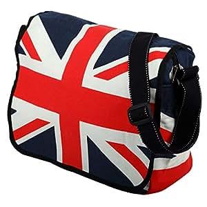 Bandolera de algodón - Diseño Union Jack / Bandera de Inglaterra