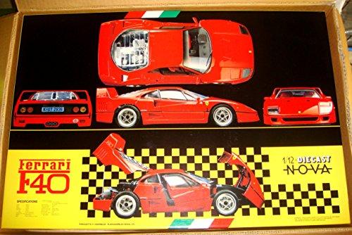Ferrari F40 1/12 NOVA アルミダイキャストモデル フジミ模型
