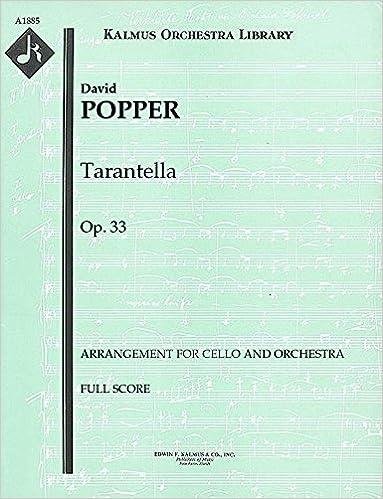 Amazoncom Tarantella Op33 Arrangement For Cello And