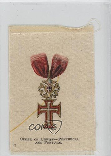 (Order of Christ - Pontifical and Portugal COMC REVIEWED Poor to Fair (Trading Card) 1912 S16 Emblem Series Silks - Tobacco [Base] - Old Mill #OOC)