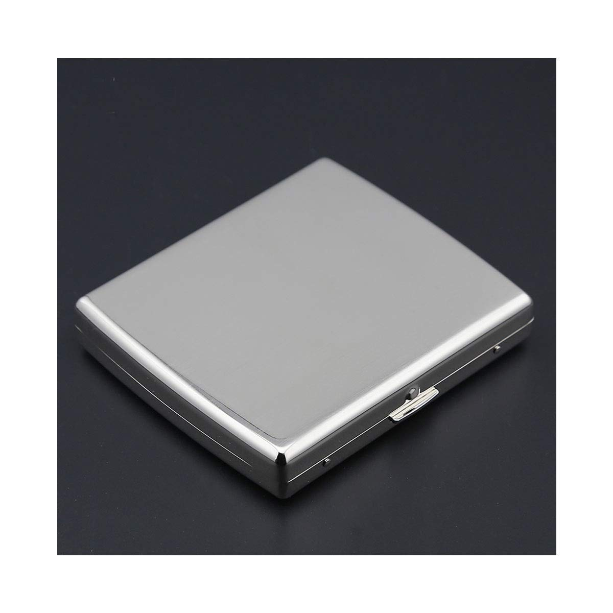 ZHONGYUE Ultra-Thin Cigarette Case, Male and Female Cigarette Case, Portable Creative Simple Personality Cigarette Case Unique Design, Sturdy and Lightweight. (Style : B)