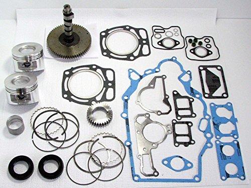 Kawasaki FD620/John Deere 425, 445, 455 Engine Rebuild Kit with Camshaft and Pistons