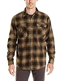 Wrangler Men's Authentics Long-Sleeve Plaid Fleece Shirt