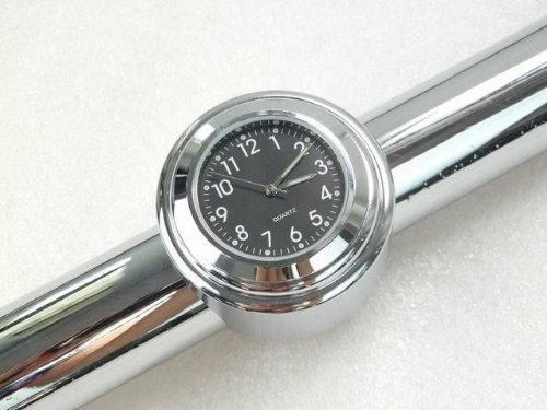 iHomie Motorcycle handlebar Clock, Mount with Harley / Softail / Dyna / Sportster / Suzuki