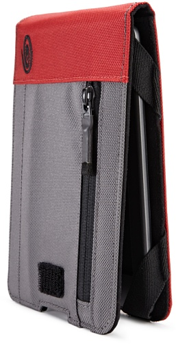 Timbuk2 Kindle Dinner Jacket with Viewing Stand and Hand Strap, Black/Grey/Red (fits Kindle Paperwhite, Kindle, and Kindle Touch)