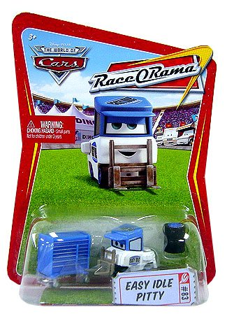 Race O-rama Series (Disney / Pixar CARS Movie 1:55 Die Cast Car Series 4 Race-O-Rama Easy Idle Pitty)