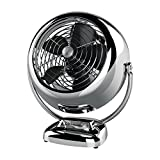 Vornado VINTAGE Whole Room Air Circulator Fan, Chrome